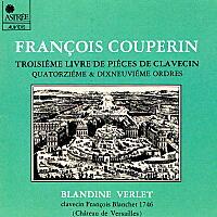 フランソワ・クープラン/クラブサン曲集第14組曲、第19組曲